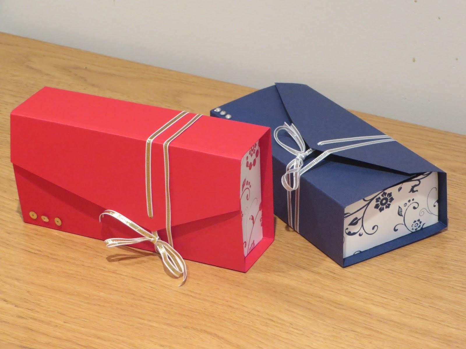 Craftycarolinecreates Clutch Bag Gift Box Tutorial Using Flowering