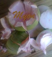 Ieu kulit jeruk Bali, padahal ayana di Subang heheeh.