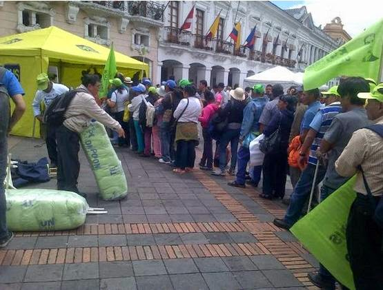 marchas 17 septiembre Ecuador