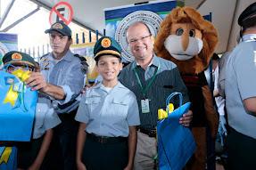 Forças de segurança e Projetos Sociais presentes na Caravana da Saúde de Dourados