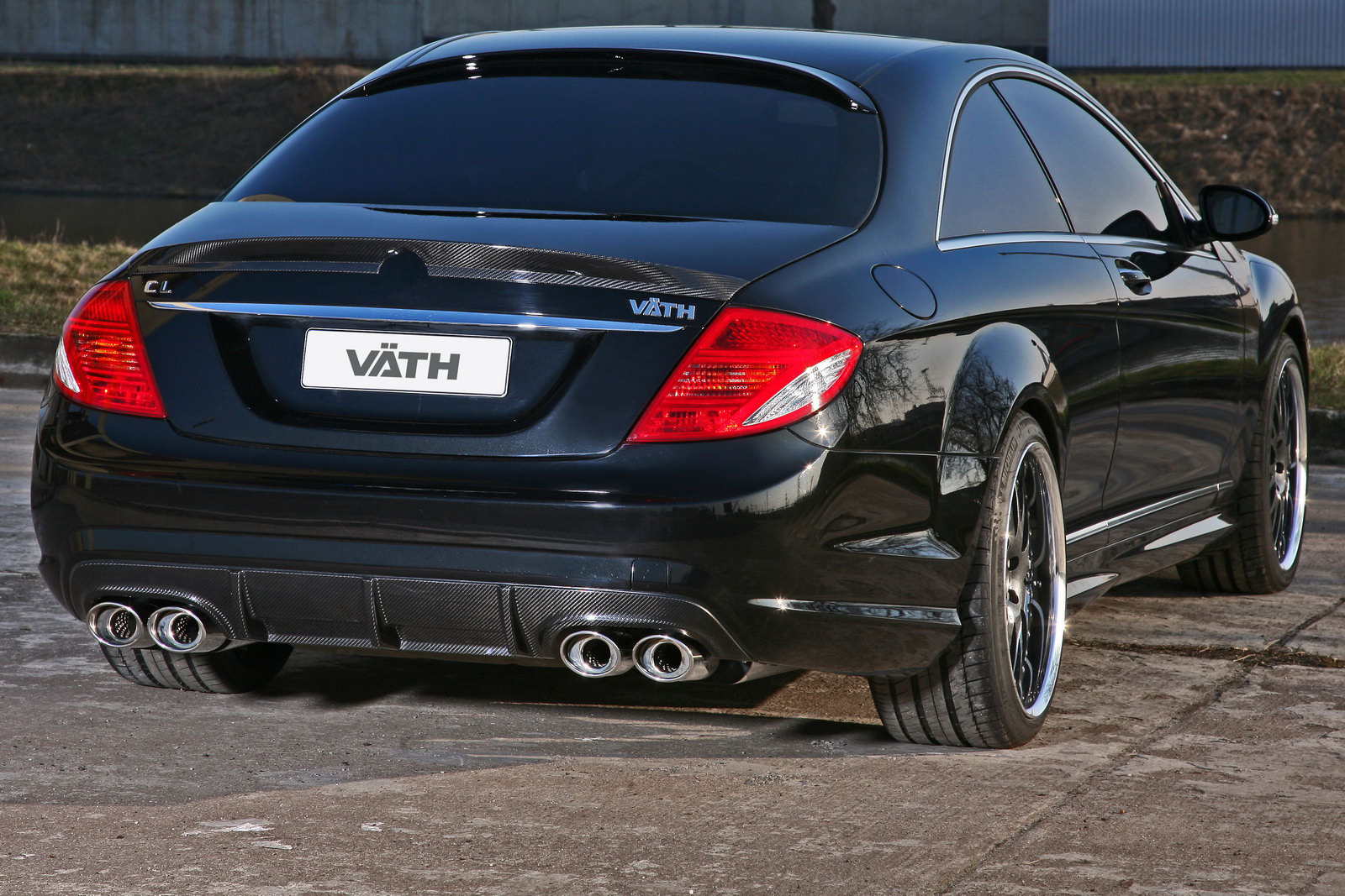 Mercedes-Benz CL500 Coupe VÄTH