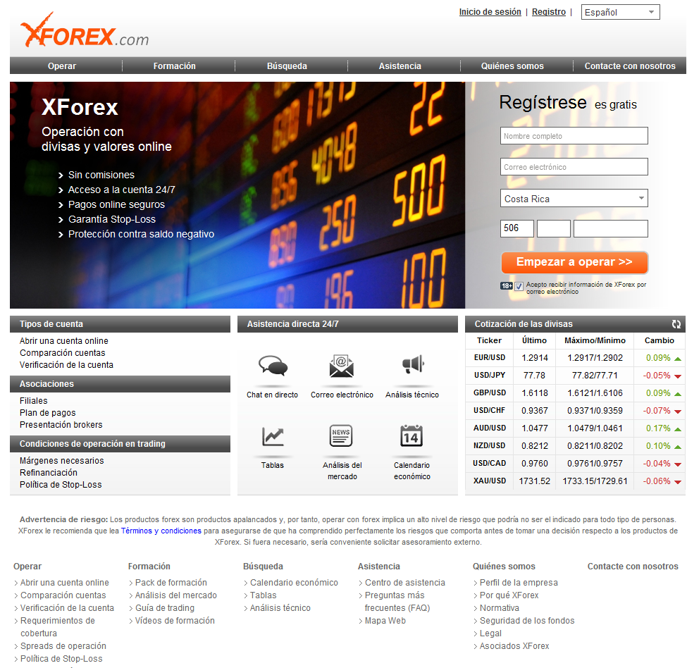Xforex how it works