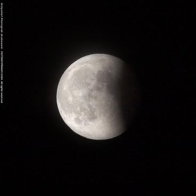 Całkowite zaćmienie księżyca - faza II