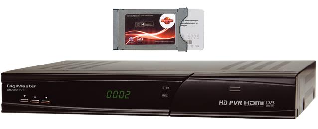 Goldmaster HD-5000 PVR Uydu Alıcı Özellikleri
