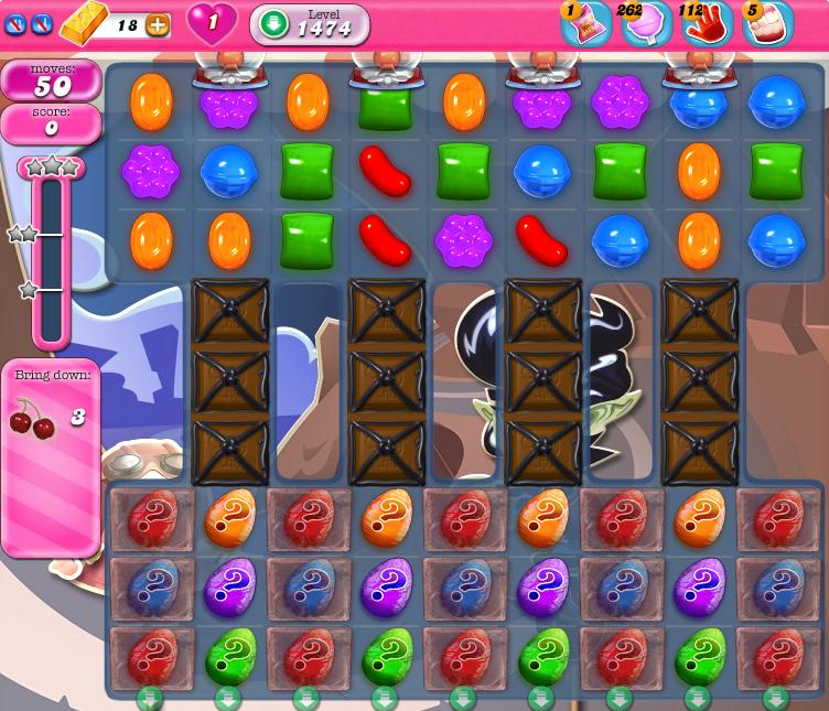 Candy Crush Saga 1474