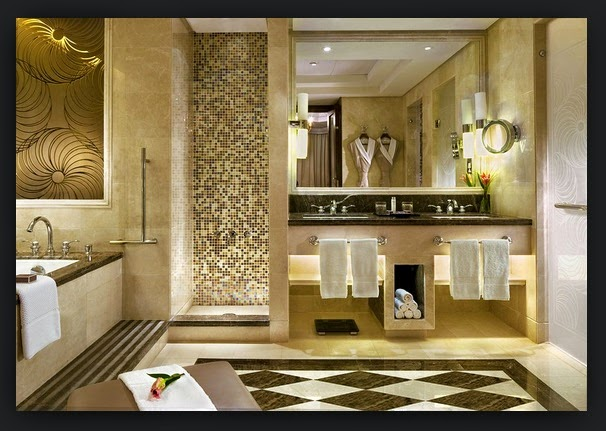 desain kamar mandi hotel bintang 5