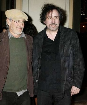 Spielberg and Burton