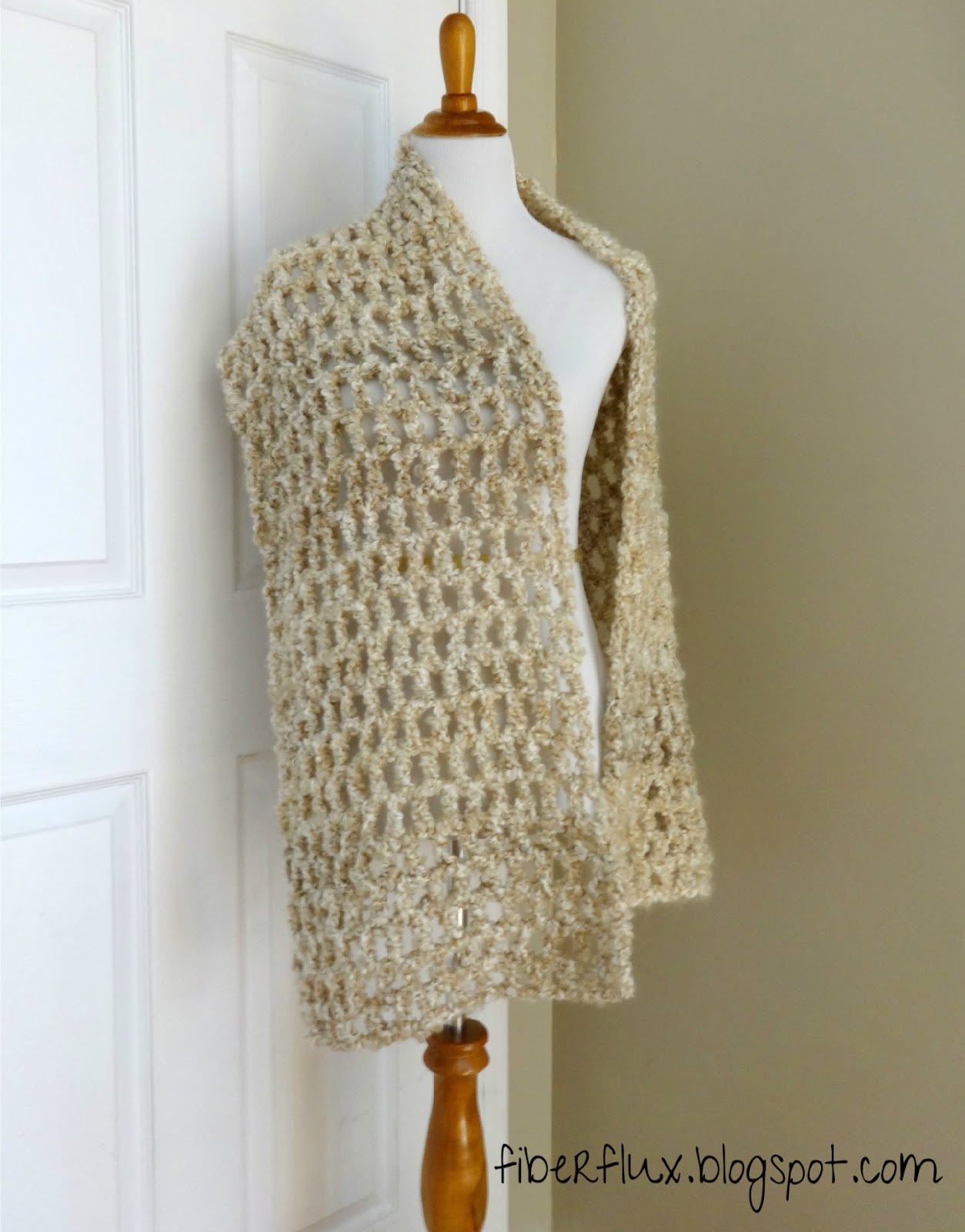 Quick Easy Crochet Shawl Patterns Free : Fiber Flux: Free Crochet Pattern...Vanilla Chai Shawl!