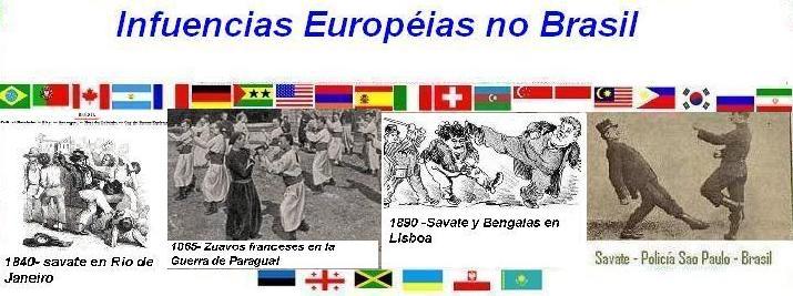 Influencias Européias no Brasil