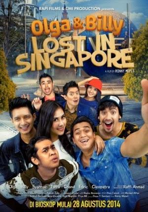 Film Olga & Billy Lost In Singapore 2014 di Bioskop