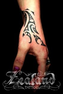 Tribal Hand Tattoos on Pinterest  Side Hand Tattoos Cool Guy