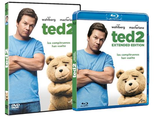 A la venta 'Ted 2' en Blu-ray, DVD y pack con 'Ted' y 'Ted 2'