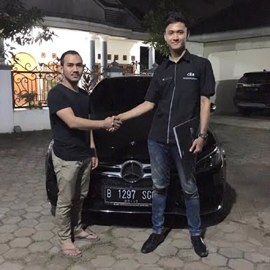 Delivery C 250 AMG a/n Bapak Ade