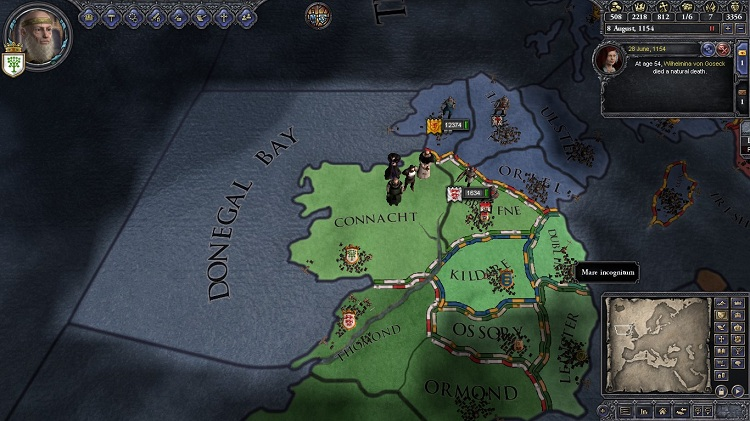 Scotland is invading Ireland