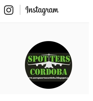 Spotters Cordoba en Instagram