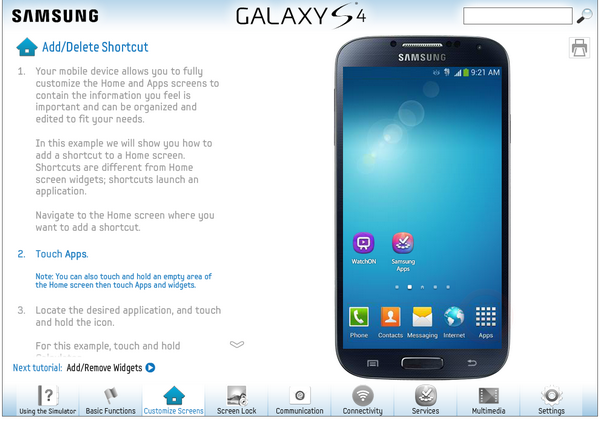 How To Test Drive the Samsung Galaxy S4 on the Web
