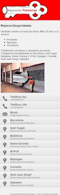 Web móvil de cerrajeria de Barcelona