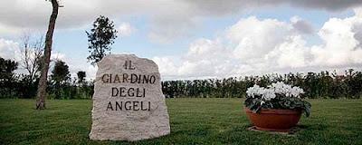 el jardin de los ángeles en Roma