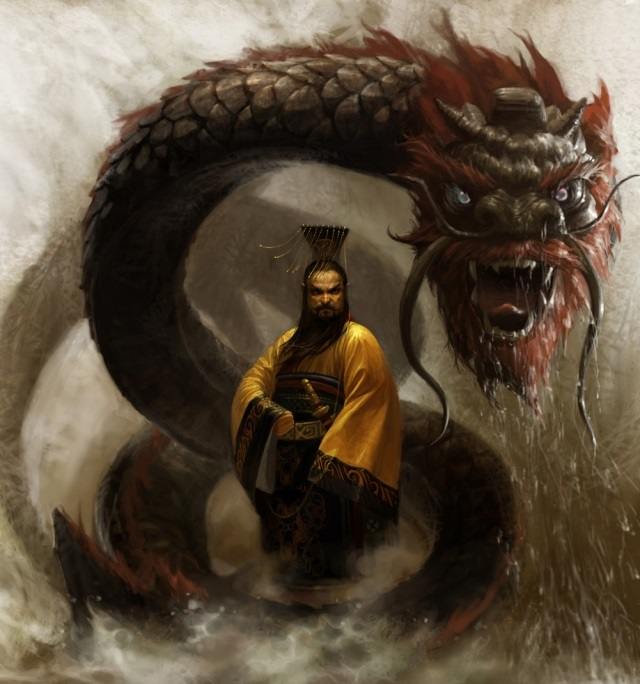 chinese dragon,dragon,digital art
