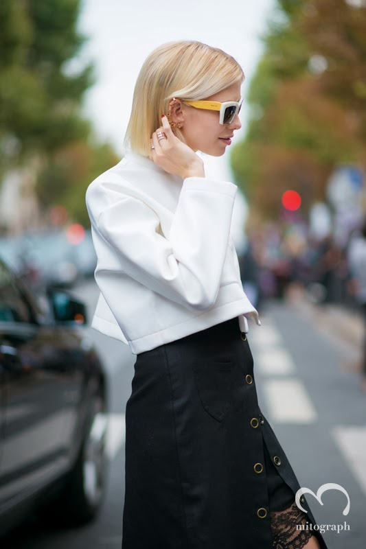 Elena Perminova attends Chloe 2014 Spring Summer Fashion show at Paris