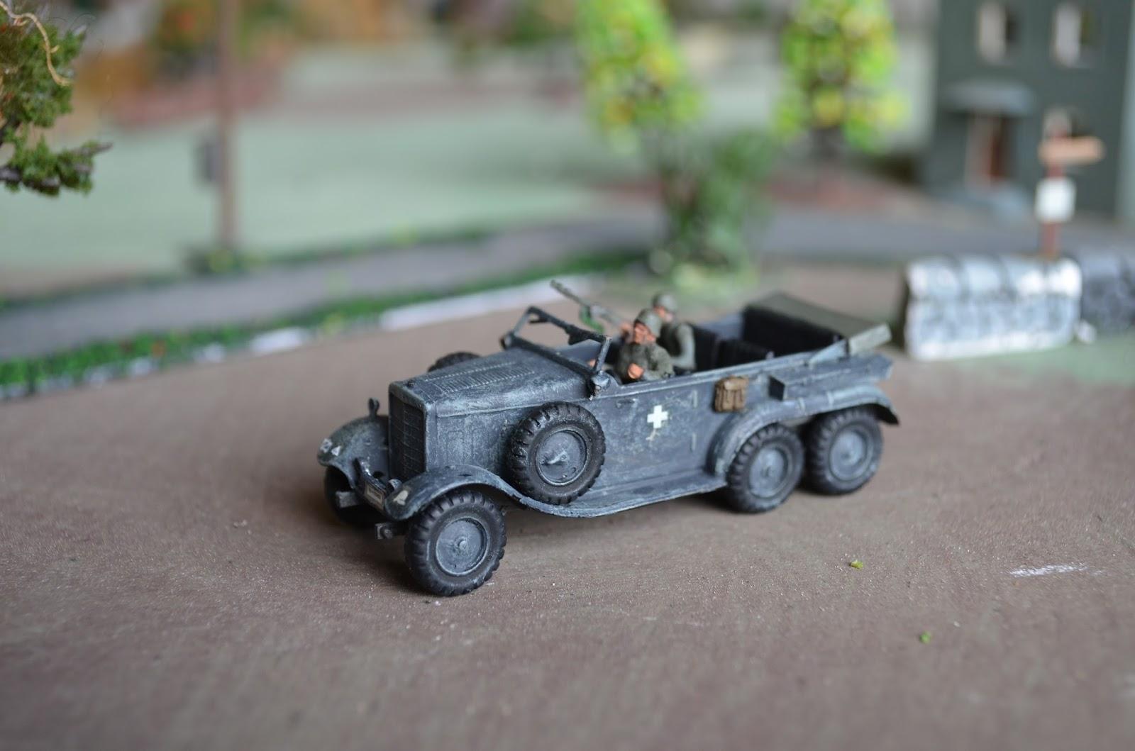 20th century wargames hasegawa mercedes benz staff car for Mercedes benz staff