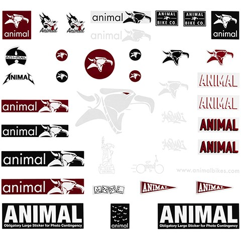 Pack de stickers ANIMAL $28.000