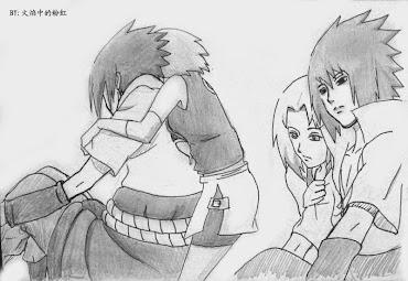 #2 Sasuke Manga Drawing