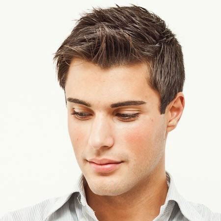 Straight Hairstyles For Men 2014