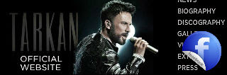 Tarkan official sources banner