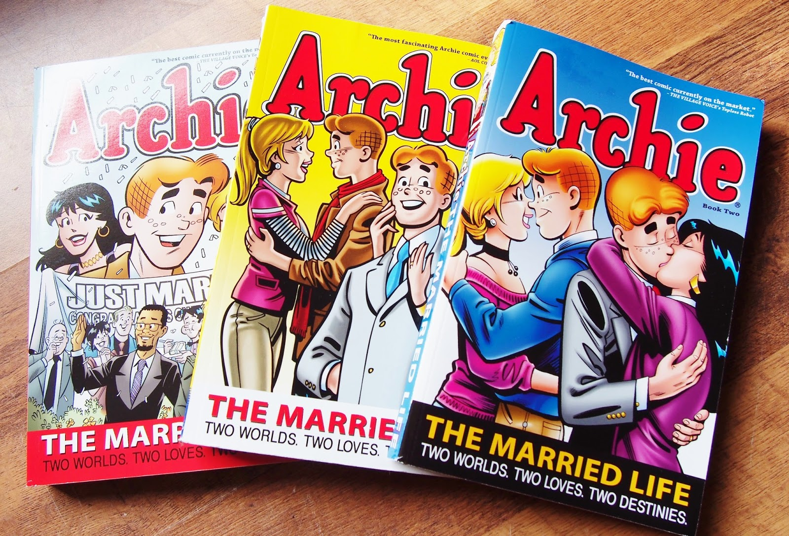 The New Archie Books Are