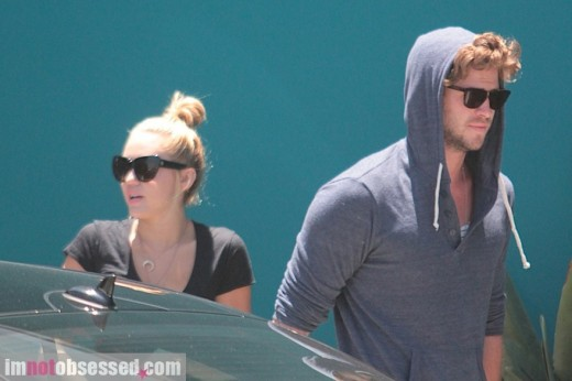 Miley Cyrus & Liam Hemsworth Are A Pilates Pair » Gossip | Miley Cyrus | Liam Hemsworth