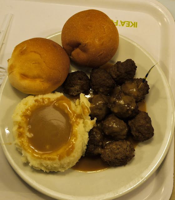 Swedish Meatballs! Dinner at IKEA in Al-Khobar