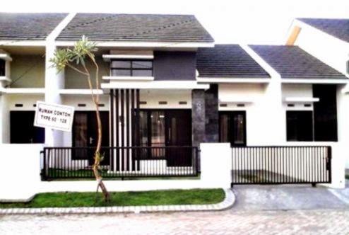 Rumah Minimalis 1 Lantai Type 60   Gambar Desain Rumah Modern
