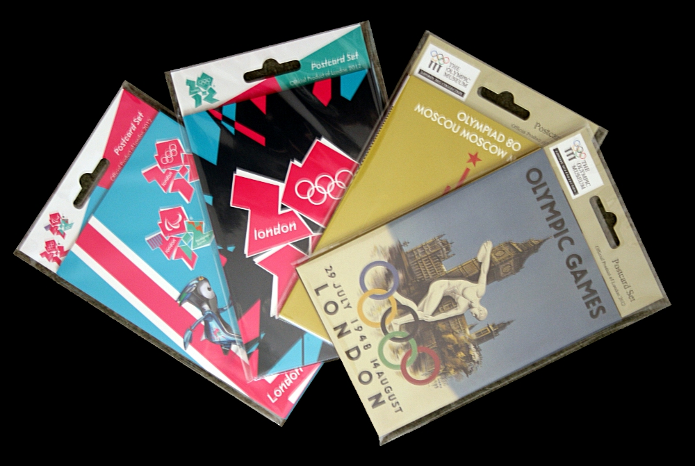 Win: Four Olympic Games Postcard Sets