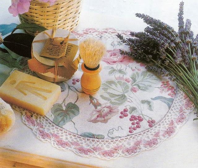 lo spazio di lilla: Splendidi bordi all'uncinetto con schemi ...