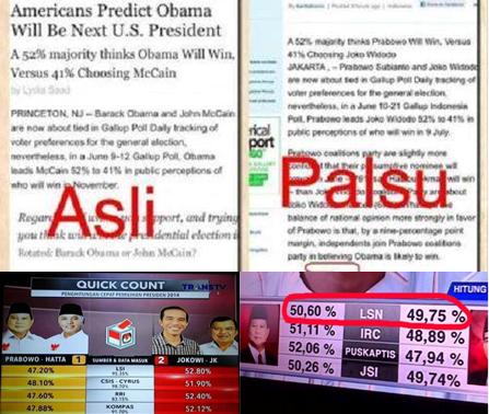 Prabowo Memalsukan Data Pilpes