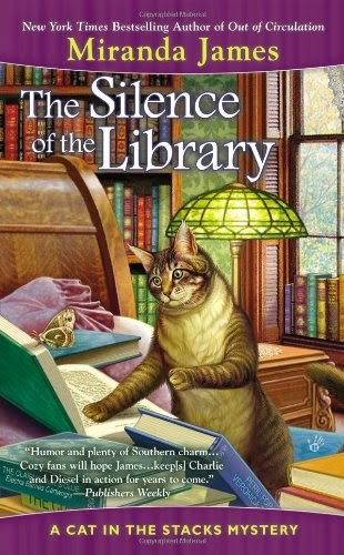 http://www.amazon.com/Silence-Library-Cat-Stacks-Mystery/dp/0425257282/ref=sr_1_4?ie=UTF8&qid=1430401748&sr=8-4&keywords=cat+in+the+stacks