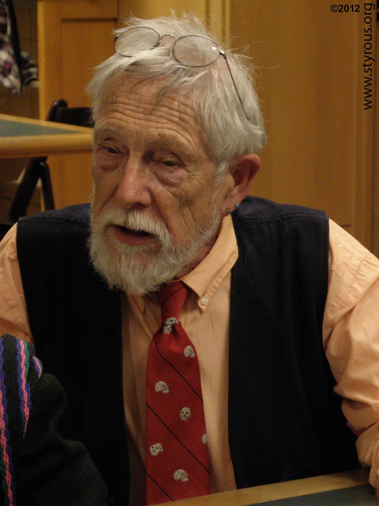 Gary Snyder lecture