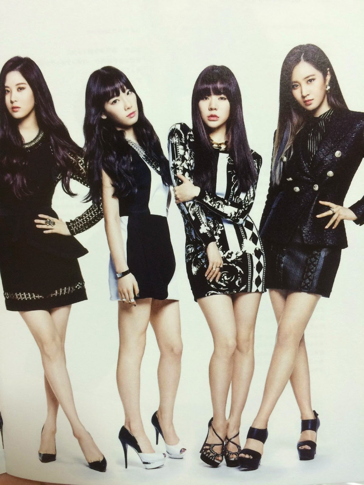 SNSD Girls Generation The Best Scan Photos