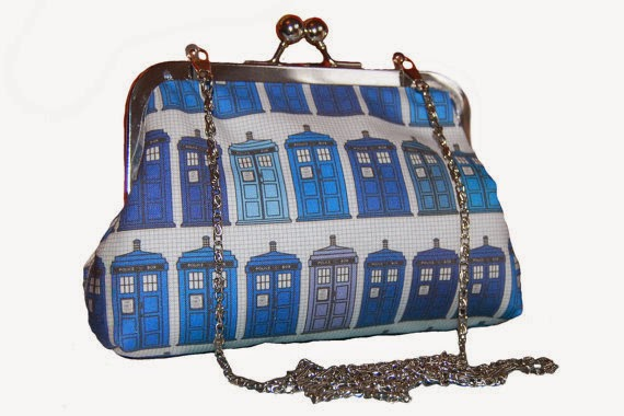 Dr. Who clutch - Lucy's Designs - Hello, Handbag