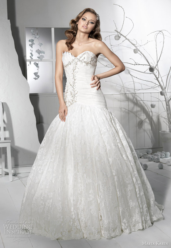 Tidebuy for Drop sleeve wedding dress