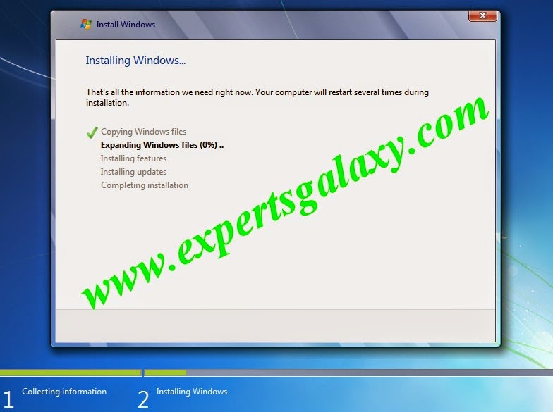 Windows 7 Expanding Files Screen