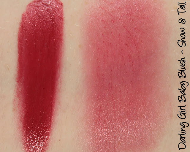 Darling Girl Show & Tell Baby Blush Swatches & Review