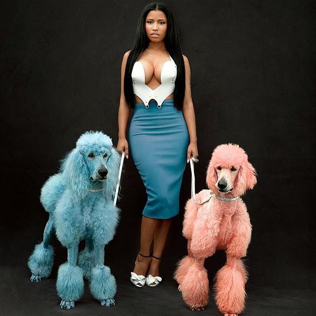 Miren este par de....Nicki Minaj