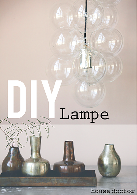 shabby style lampe diy. Black Bedroom Furniture Sets. Home Design Ideas