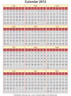 Calendar 2013 - 9