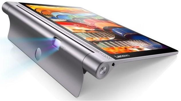 Lenovo Yoga Tab 3 Pro, Tablet Plus Proyektor Dalam Satu Paket Dengan Baterai Tahan 18 Jam