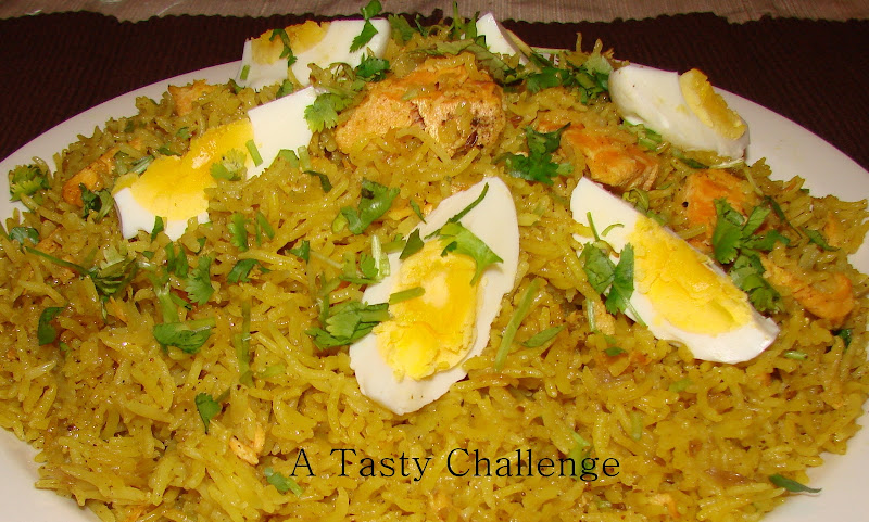 Salmon and Egg Rice