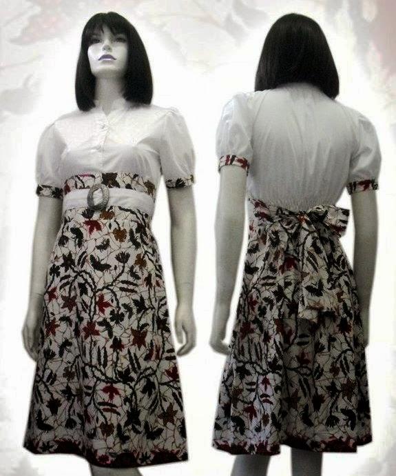 Gambar Model Baju Batik Modern 2015