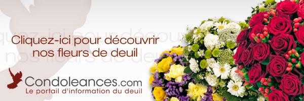Message de condol ances avec fleurs message de for Livraison fleurs avec message